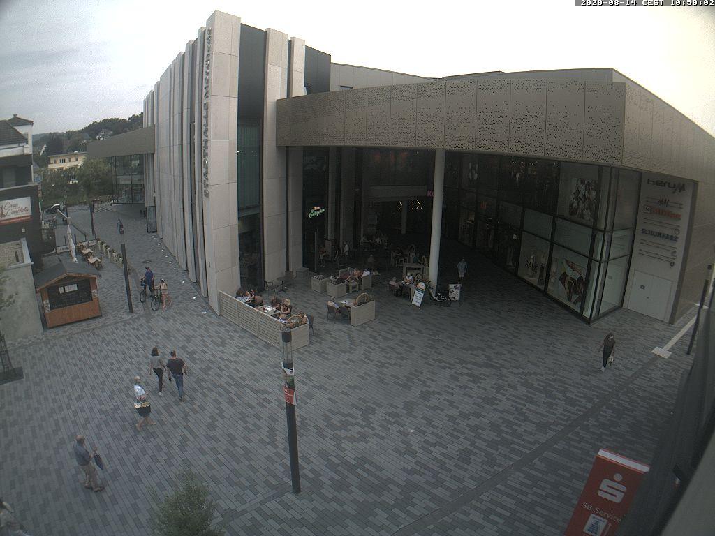Blick auf die Hennestiege am Winziger Platz